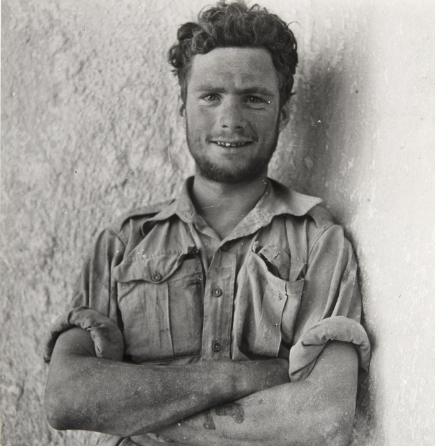 , 'A Member of Y-Patrol of the Long-Range Desert Group, SIWA Oasis, Wesetern Desert, Egypt,' 1942, Beetles + Huxley