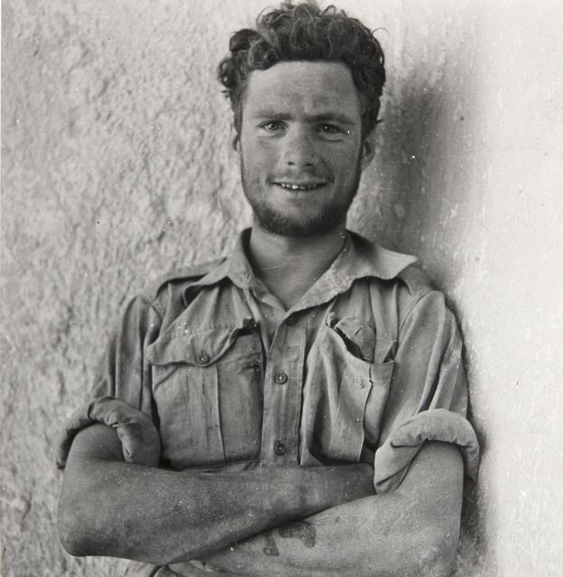 , 'A Member of Y-Patrol of the Long-Range Desert Group, SIWA Oasis, Wesetern Desert, Egypt,' 1942, Huxley-Parlour