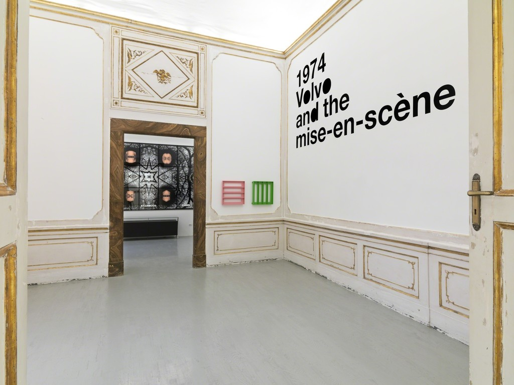 Liam Gillick - four propositions six structures - partial view of the exhibition - November 2012 - Galleria Alfonso Artiaco, Napoli