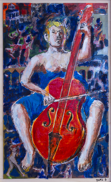 , 'Donna con violoncello,' 2013, DIE GALERIE