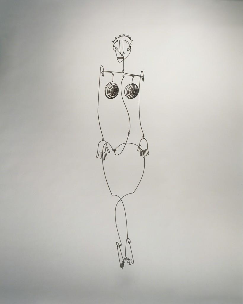 Alexander Calder | Aztec Josephine Baker (1930) | Artsy