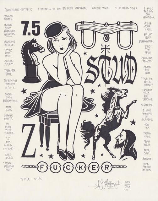 , 'Stud,' 2015, Black Book Gallery