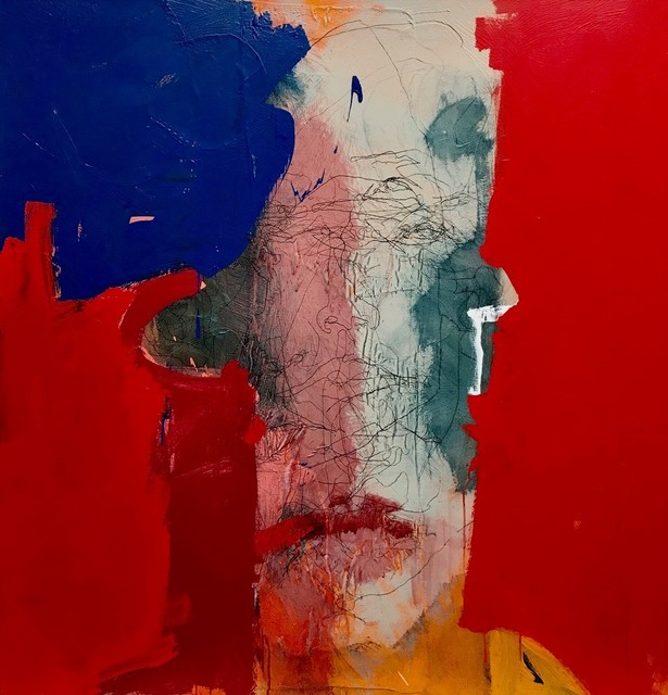 , 'Head Series: Blue Red ,' 2019, ÆRENA Galleries and Gardens