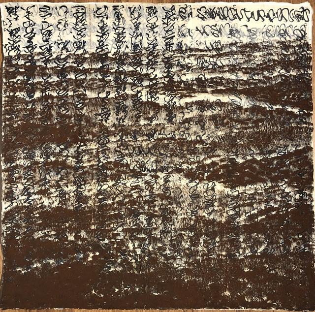 Yoshio Ikezaki, 'Voice of long ago', 2019, Painting, Mixed Media on handmade paper, Kylin Gallery
