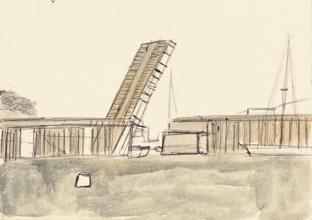 , 'Marin County Drawbridge,' 2013, Creativity Explored