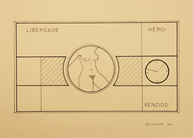 , 'Untitled - Visual Poem,' 1980, Roberto Alban Galeria de Arte