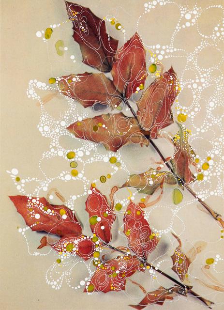 , 'Mahonia Aquifolium Moseri,' 2018, Edwynn Houk Gallery