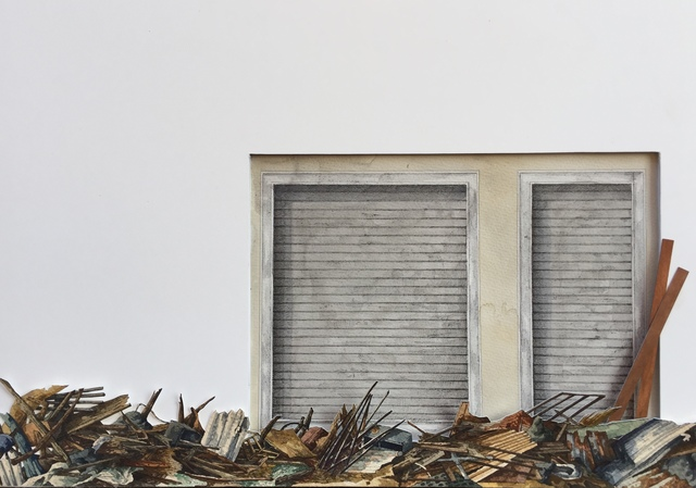 Vanni Cuoghi, 'Monolocale 89 (Typhoon 15) 一居室 89 (颱風 15)', 2019, Rossi & Rossi