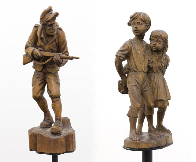 , 'Hänsel, Gretel und der Soldat,' 2017, Galerie Crone