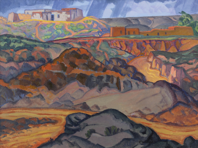 , 'Arroyo No. 4,' 1922, Addison Rowe Gallery