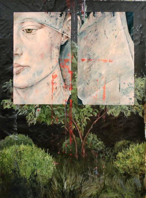 , 'Le Jardin de R. (The Garden of R.),' 2017, Kloser Contemporary Art