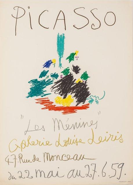 Pablo Picasso, 'Les Menines Galerie Louise Leiris', 1959, Zuleika Gallery