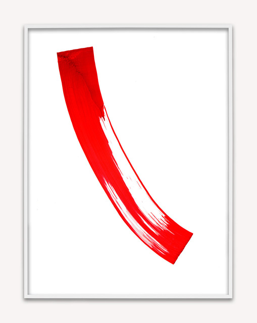 , 'Replacement Ink for Epson Printers (Red 172201) on Canson PhotoSatin Premium RC Paper,' 2014, M+B