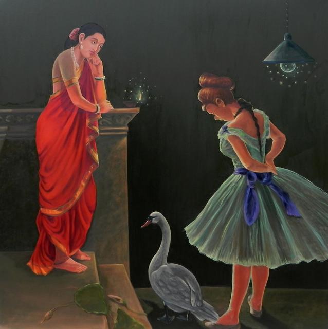 , 'Confluence- 1,' 2018, Arushi Arts