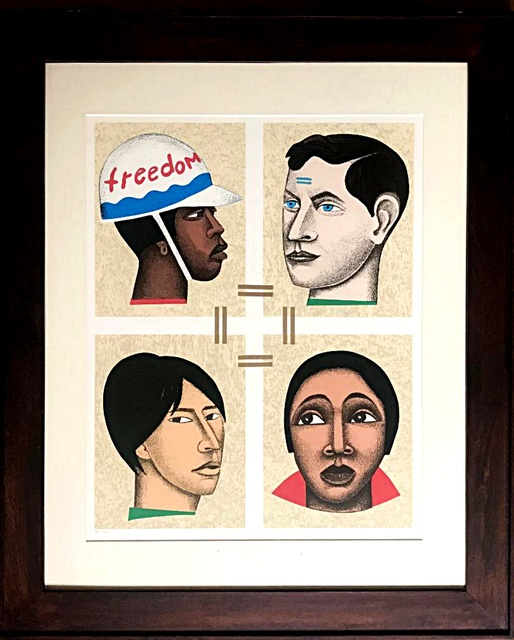 , 'Freedom or Slavery ,' 1998, Alpha 137 Gallery