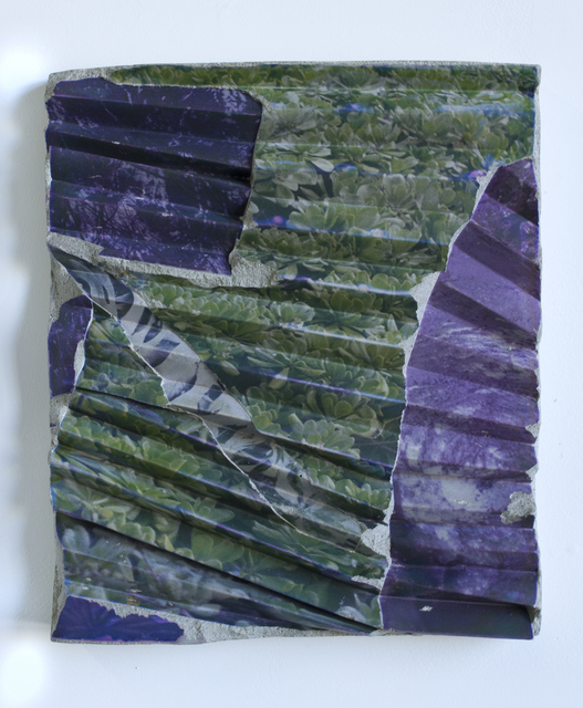 , 'California Concrete Ripple (green violet),' 2017, Brand New Gallery