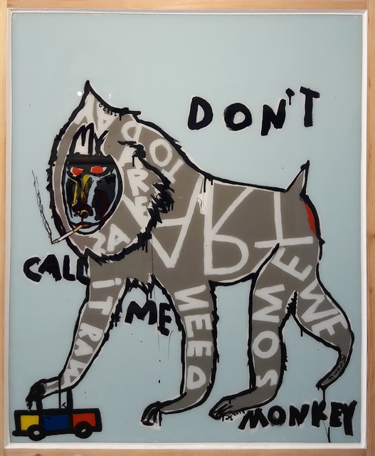 , 'Don't Call Me Monkey,' 2017, Galerie Schimming