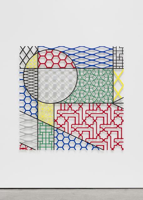 , 'Pattern Kinship Mondrian,' 2017, Wentrup