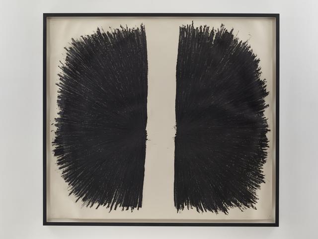 , 'Oil & Graphite Vitruvian Man,' 2005, Sandra Gering Inc