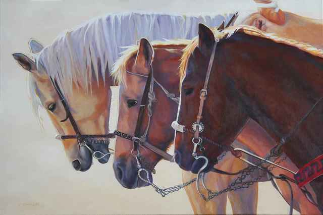 , 'Caballeros Ride,' , Sorrel Sky Gallery