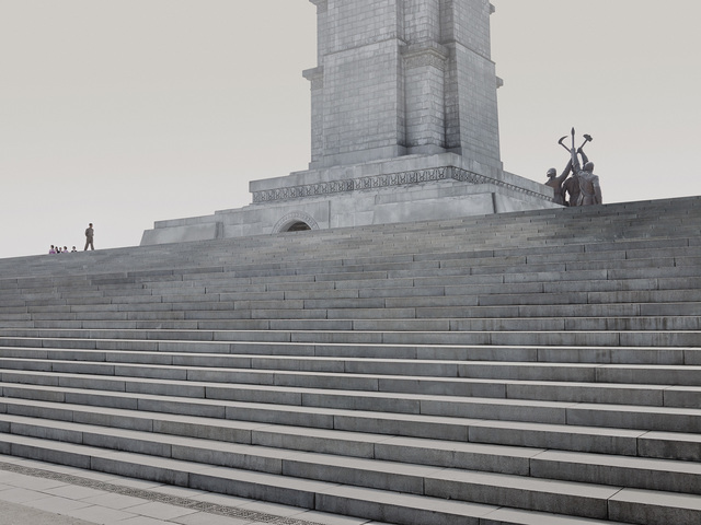 , 'Stairs (Tower of the Juche Idea, Pyongyang),' 2014, The Ravestijn Gallery