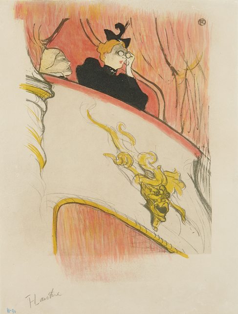 Henri de Toulouse-Lautrec, 'La loge au mascaron doré (The Box with the Gilded Mask)', 1893, Phillips