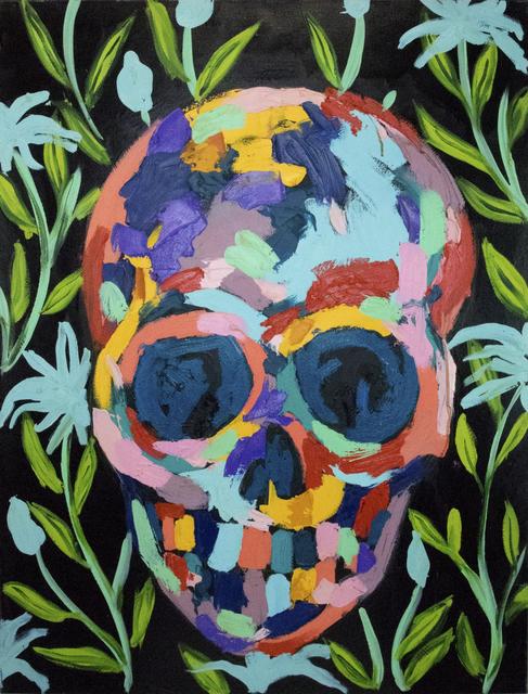 , 'Skull on Safari ,' 2018, Maddox Gallery