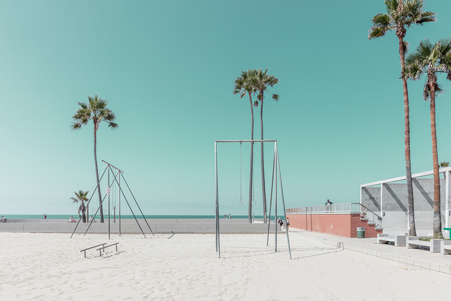 , 'Venice Beach Gym,' , ArtStar