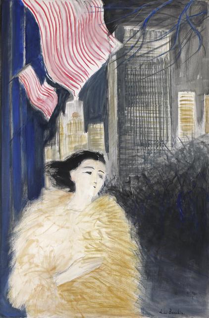 Andre Brasilier, 'Soir à New York', 1994, Opera Gallery