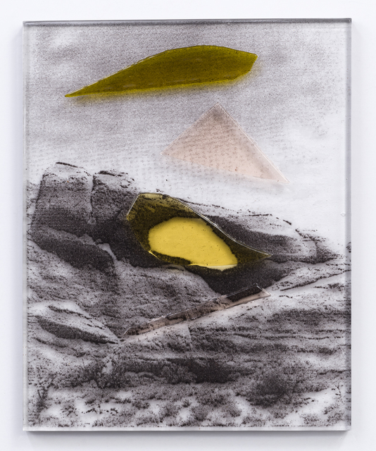 , 'Yellow and Peach Arch,' 2018, Kopeikin Gallery