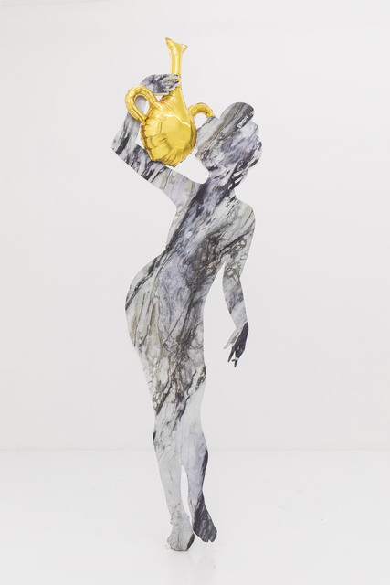 , 'Woman with Vase 1,' 2017, The Hole
