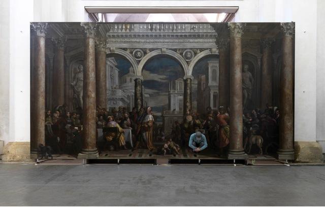 , 'Supersymmetricpartner,Convito in casa di Levi,HaeredesPauli,presso il monastero di San Francesco al corso, Verona,' 2014, Enrico Astuni