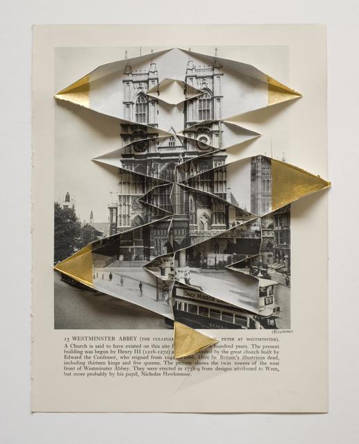 , 'Westminster Abbey 1935 1947,' 2013, Raum mit Licht