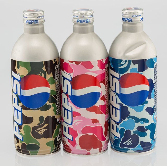 BAPE, 'Set of Three Pepsi Bottles', c. 2002, Heritage Auctions