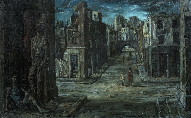 , 'London,' 1941, Osborne Samuel