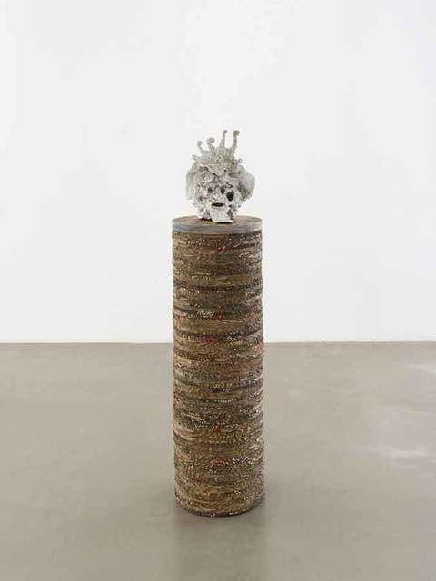 Peter Linde Busk, 'Head over Heals', 2018, Sculpture, Mixed media, Galleri Bo Bjerggaard