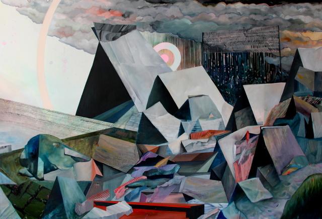, 'Where it meets the Sky, the Horizon Melts,' 2017, Galerie D'Este