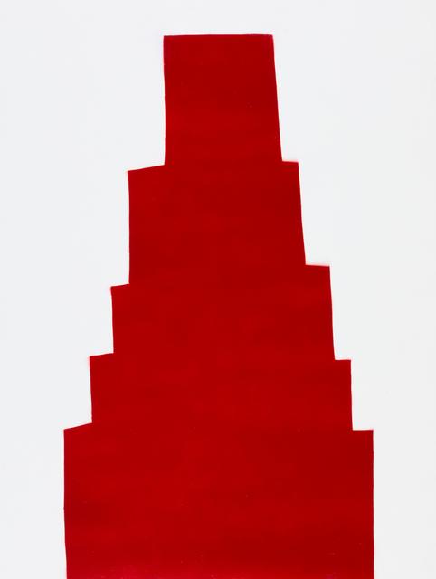 , 'RED 60,' 2018, Elizabeth Harris Gallery