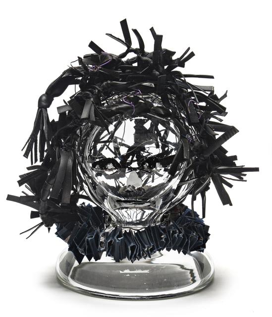 , 'BICYCLE INNER TUBE HAIR,' 2015, Traver Gallery
