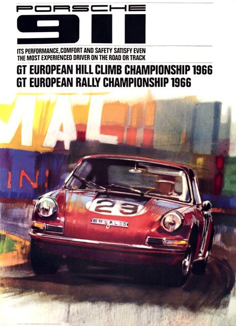 , 'Porsche 911 - GT European Hill Climb Championship 1966,' 1966, Omnibus Gallery