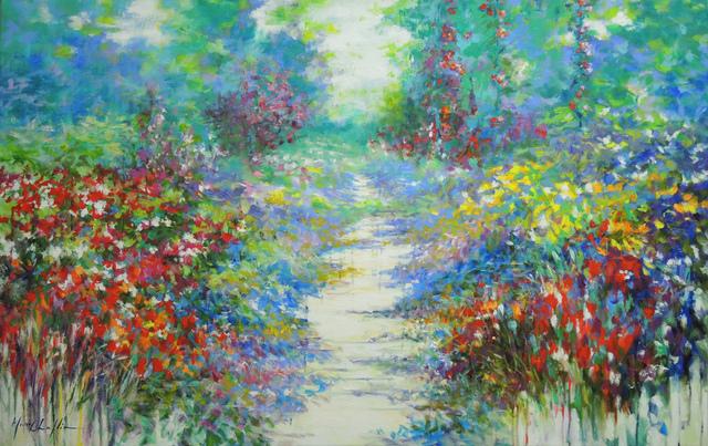 , 'Summer walk in Giverny,' 2017, Wychwood Art