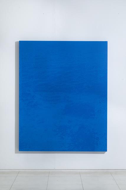 , 'Blue taratism A '38.2-128.5,' 2018, KWANHOON GALLERY