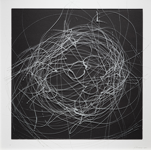 , 'CHAOS DRAWINGS #3	,' 2017, Traver Gallery