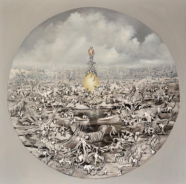 José Benítez Montilla, 'Hijos del Sol ', 2018, Es Arte Gallery