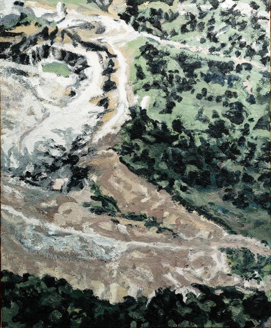 Mimi Oritsky, 'Green Lane #9', 2017, Painting, Oil on linen, Amos Eno Gallery