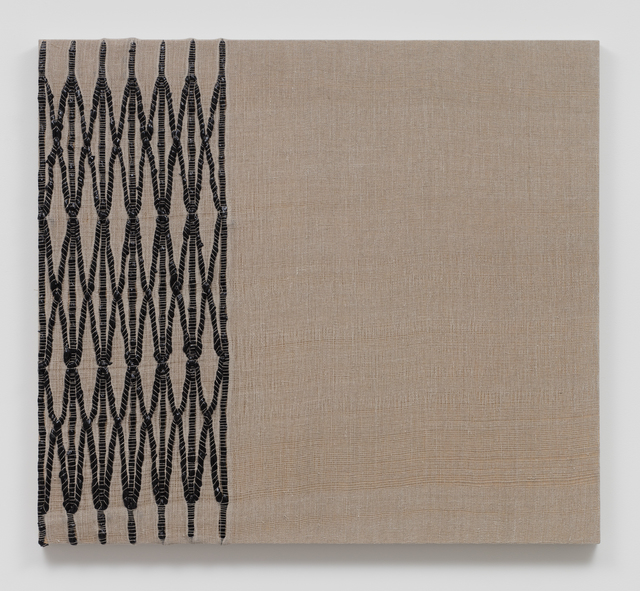 , 'Woven Collapsible Gate, Collapsed (Black),' 2017, Sprüth Magers