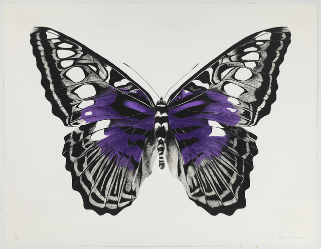 , 'Butterfly Purple Silkscreen,' , Sladmore Contemporary