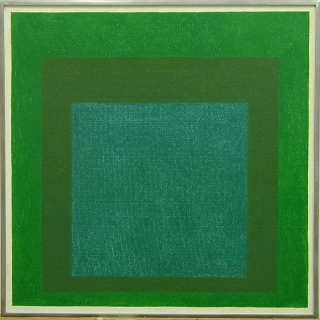 , 'homage to the square - JAAF 1976.1.322,' 1963, Galerie Denise René