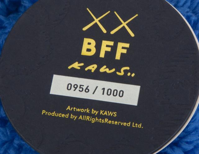 KAWS, 'BFF (blue)', Design/Decorative Art, Stuffed plush figure, Julien's Auctions