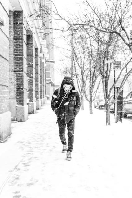Kirill Polevoy, 'Snow, Chicago', 2018, Gallery Victor Armendariz